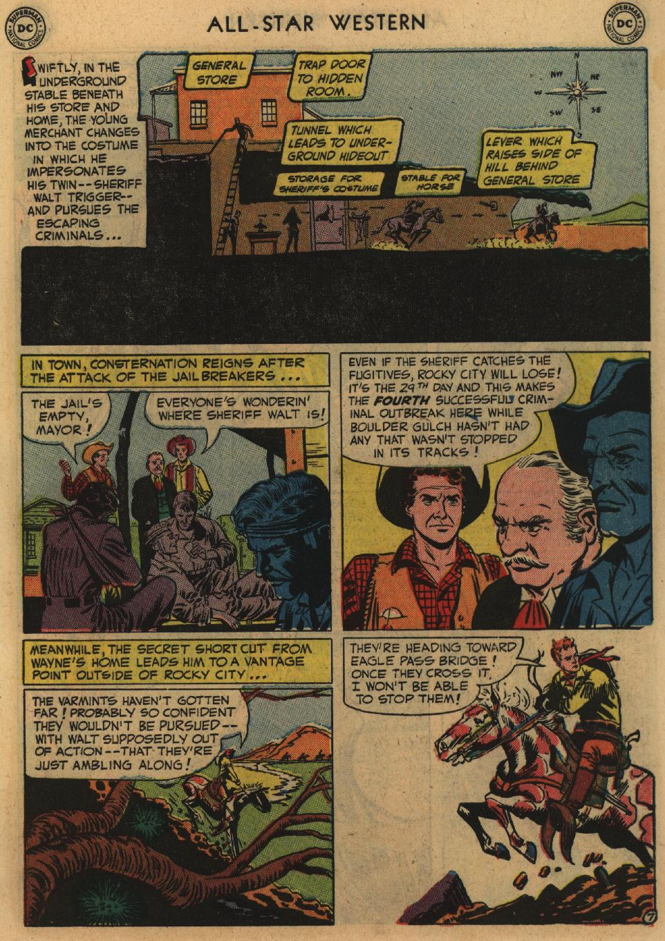 Read online All-Star Western (1951) comic -  Issue #60 - 9