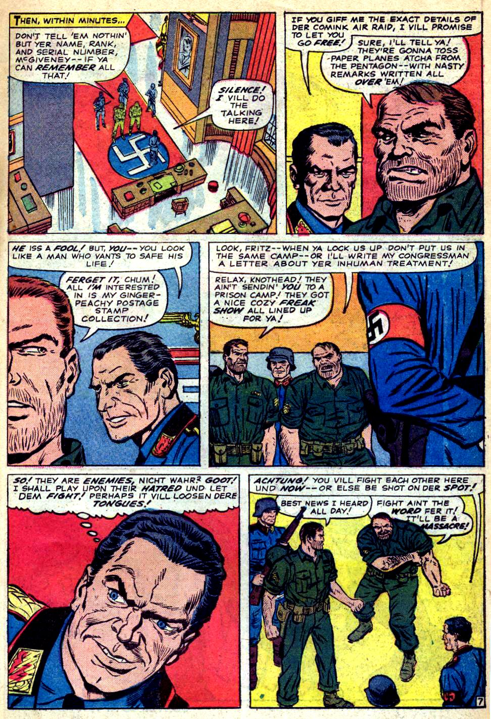 Read online Sgt. Fury comic -  Issue #22 - 11