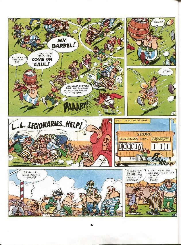 Read online Asterix comic -  Issue #8 - 39