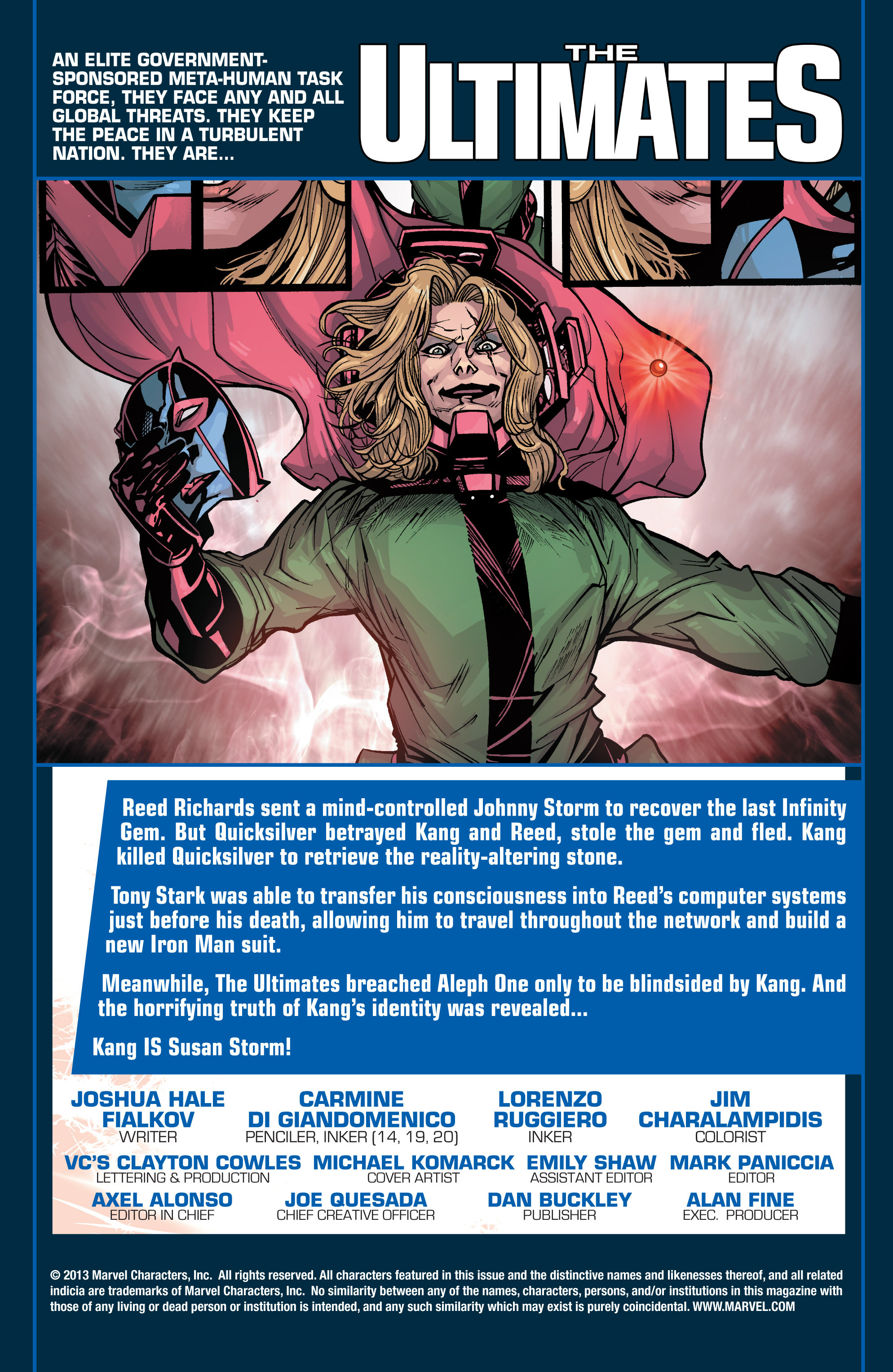 Read online Ultimate Comics Ultimates comic -  Issue #30 - 2