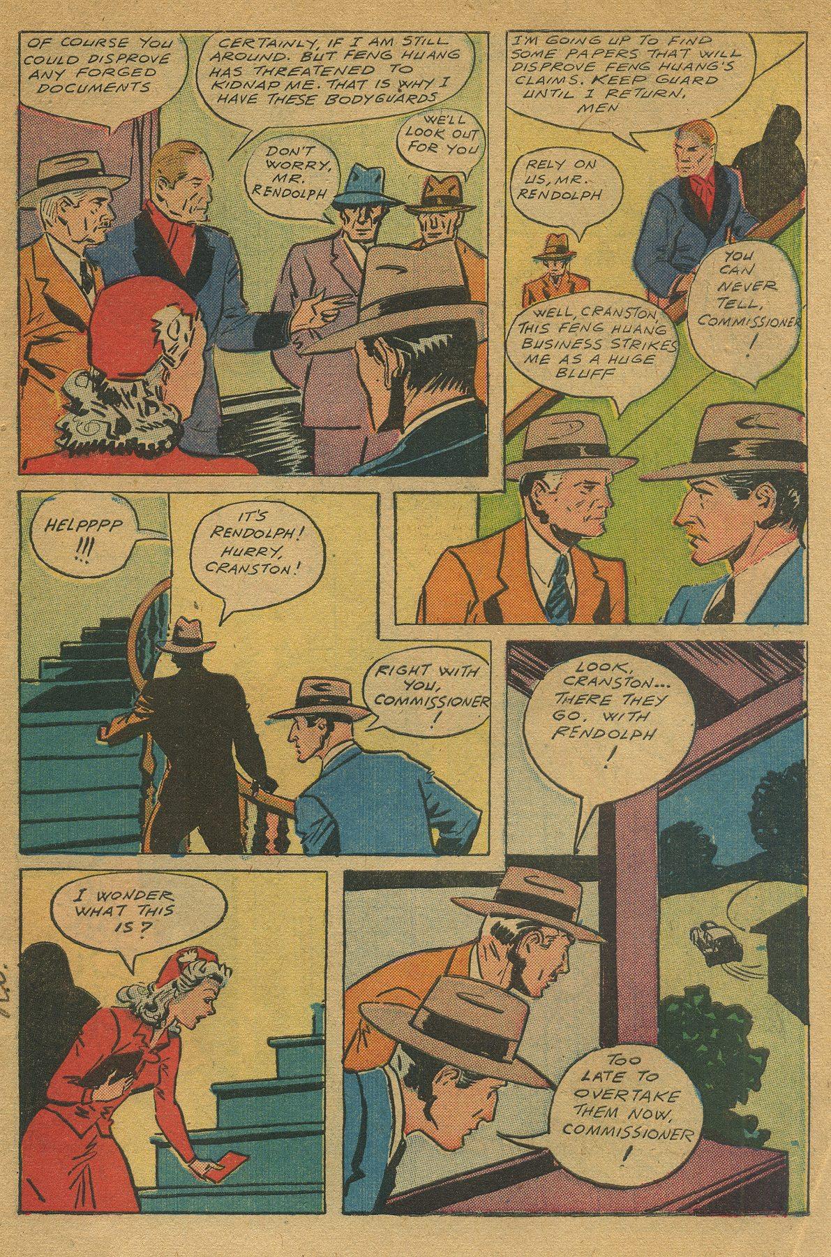 Read online Shadow Comics comic -  Issue #49 - 5