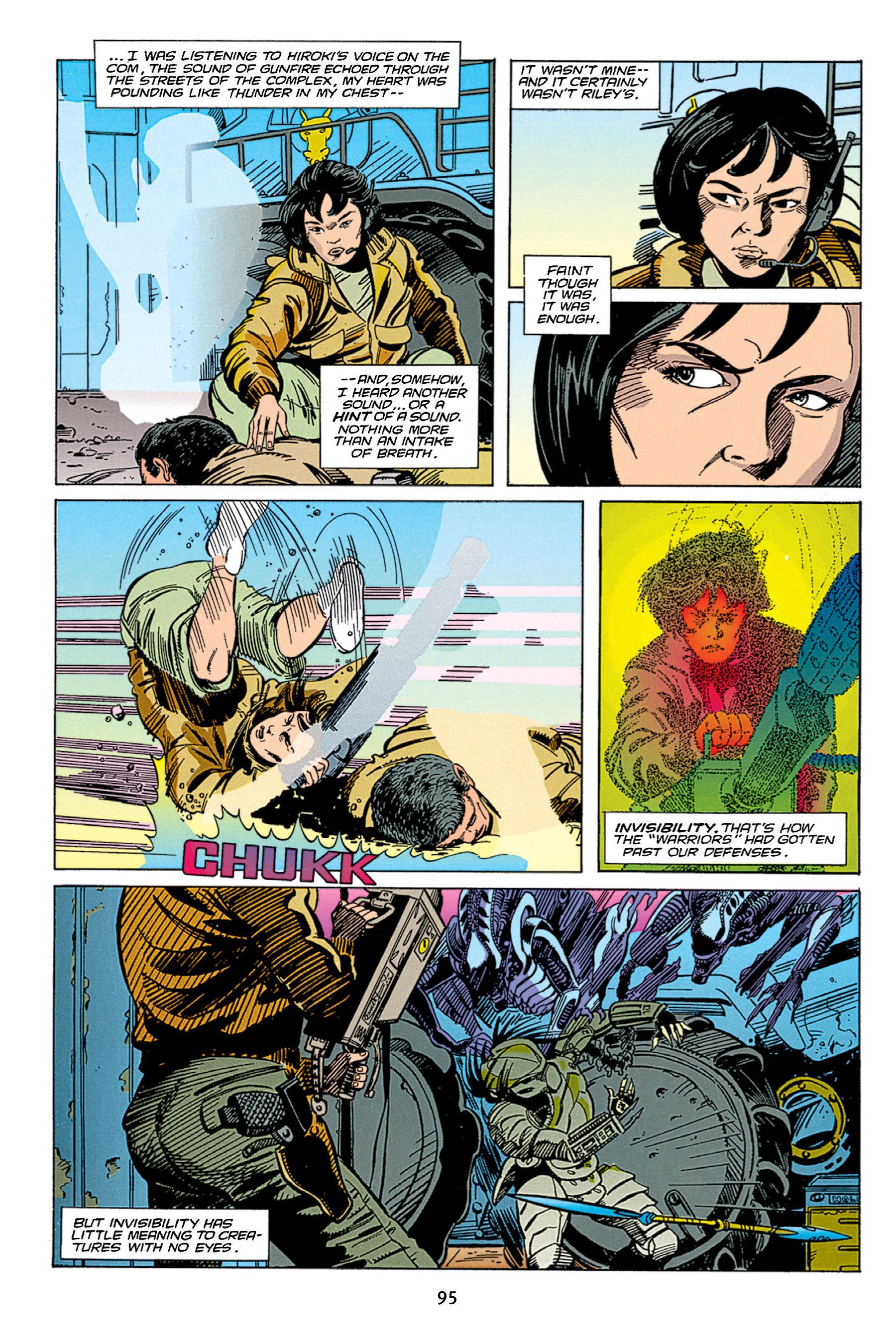 Read online Aliens vs. Predator Omnibus comic -  Issue # _TPB 1 Part 1 - 95