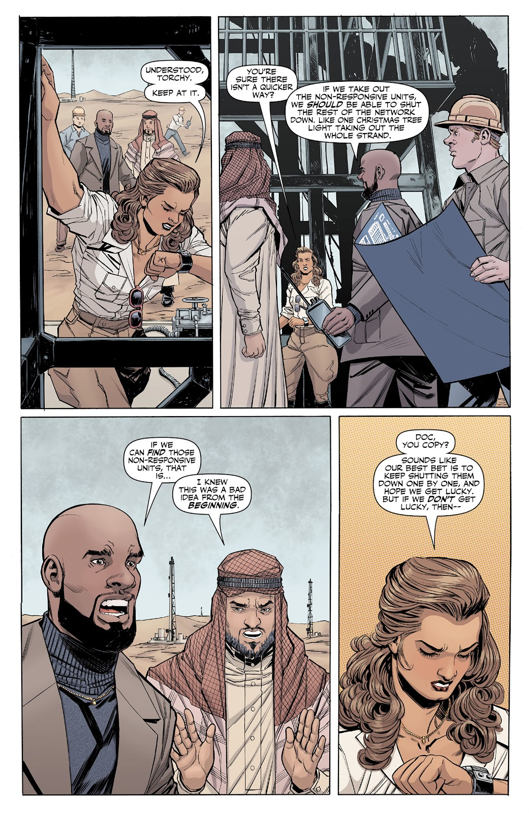 Doc Savage (2013) issue 4 - Page 17
