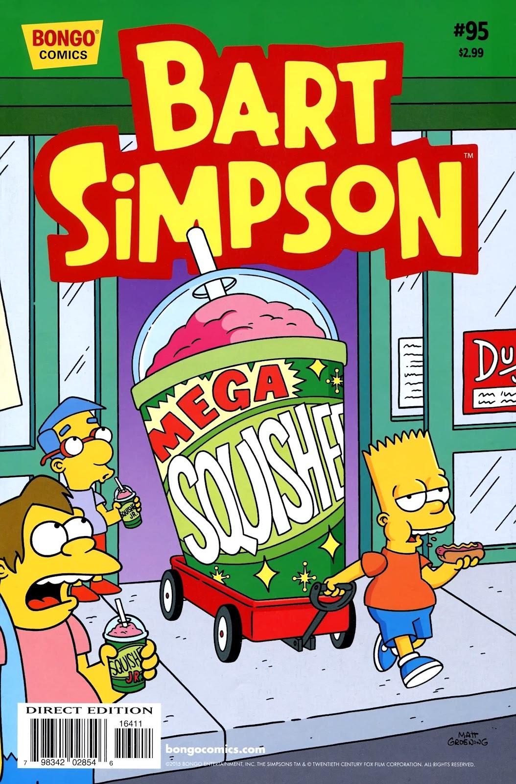 Simpsons Comics Presents Bart Simpson 95 Page 1