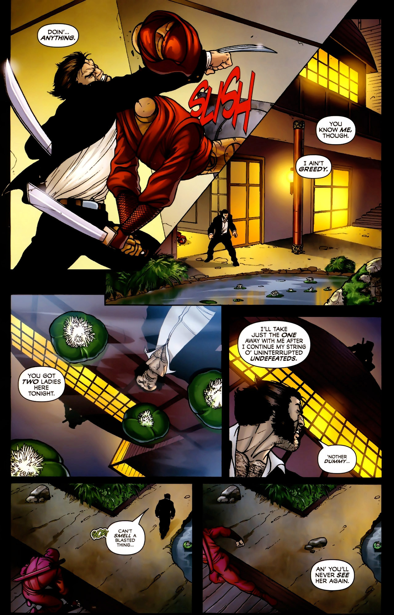 Read online Wolverine: First Class comic -  Issue #2 - 14