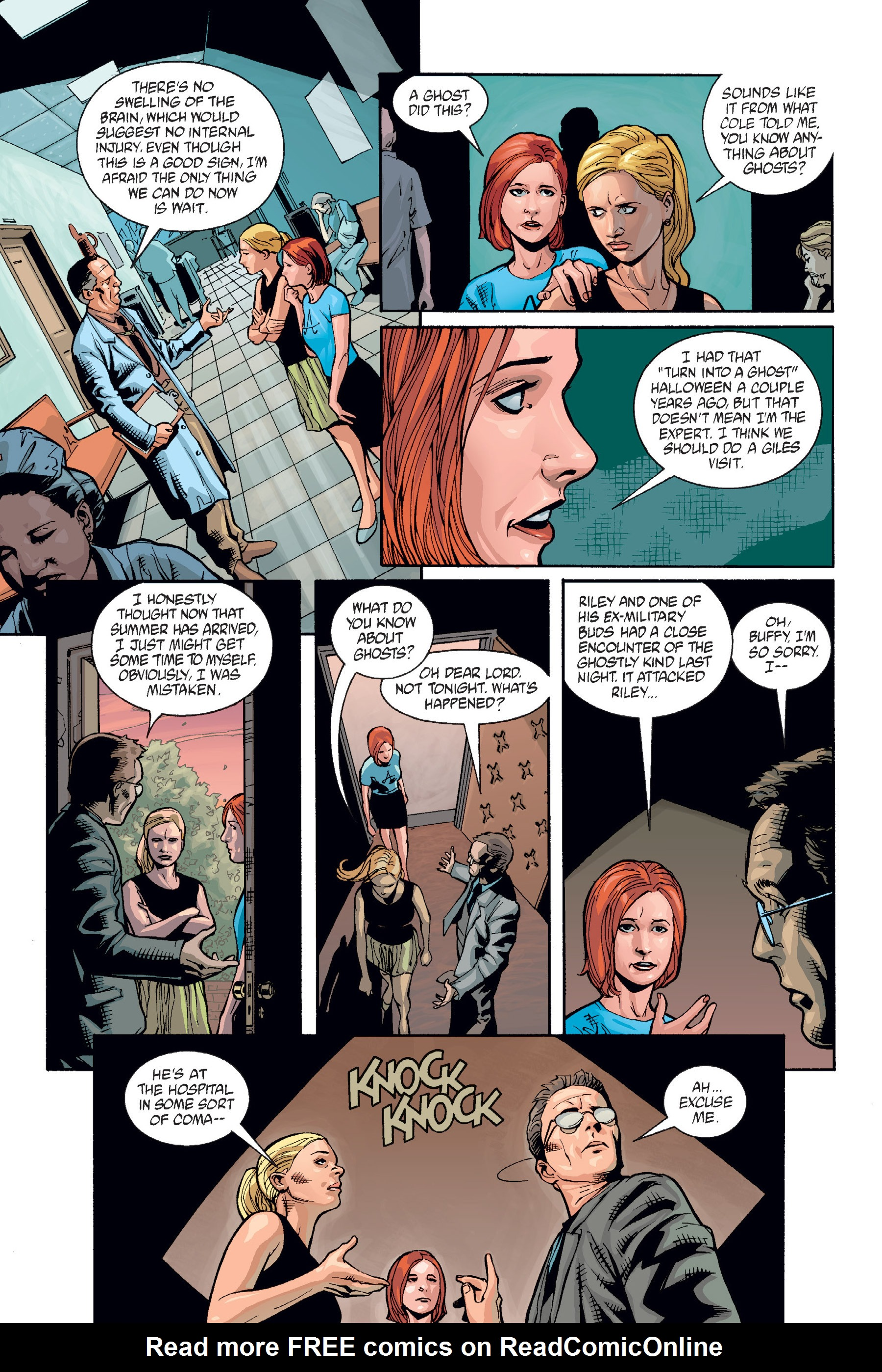 Read online Buffy the Vampire Slayer: Omnibus comic -  Issue # TPB 6 - 190