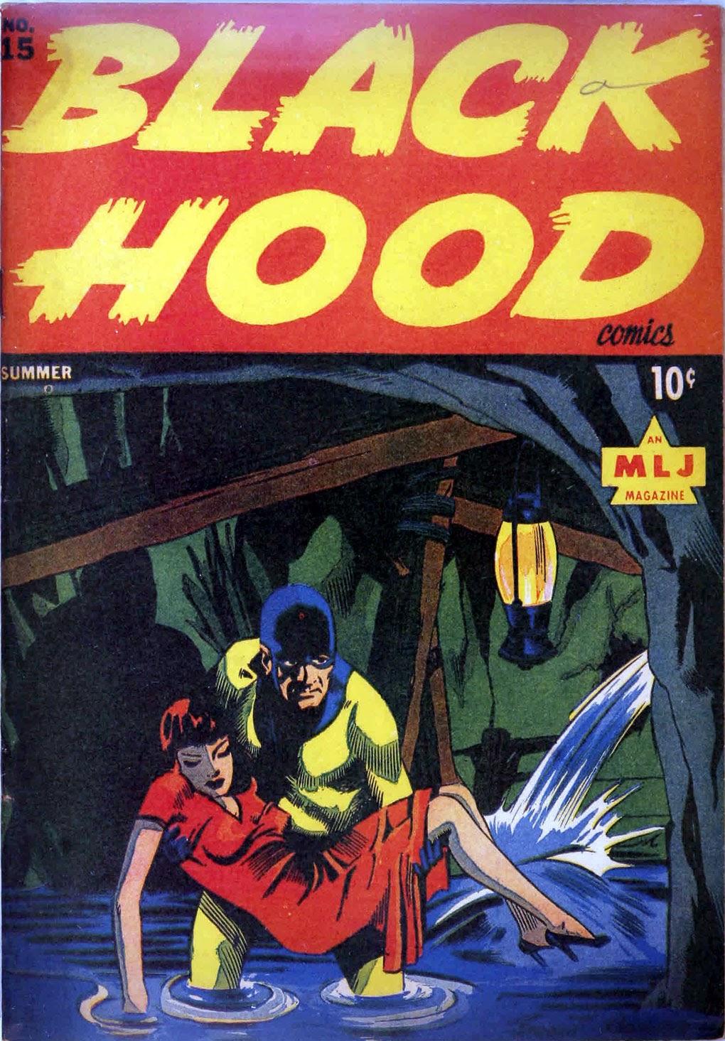 Black Hood Comics 15 Page 1