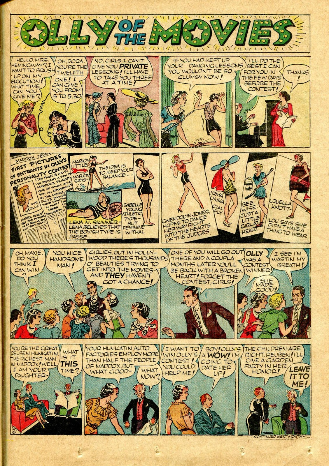 Read online Famous Funnies comic -  Issue #64 - 44