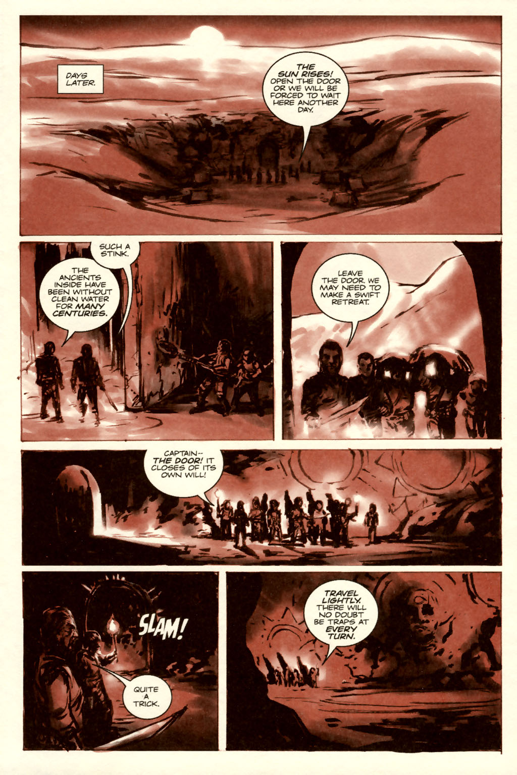 Read online Sea of Red comic -  Issue #5 - 15