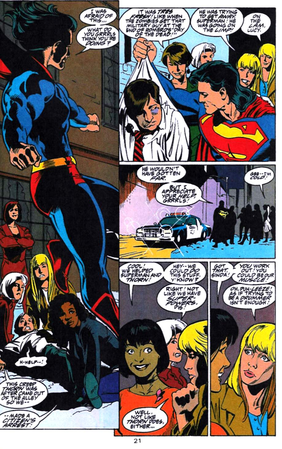 Read online Adventures of Superman (1987) comic -  Issue #521 - 22