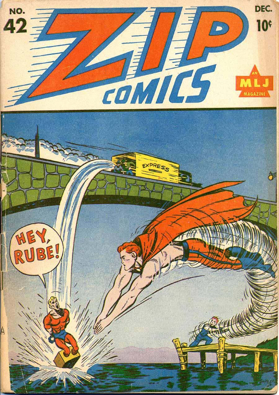 Zip Comics 42 Page 1