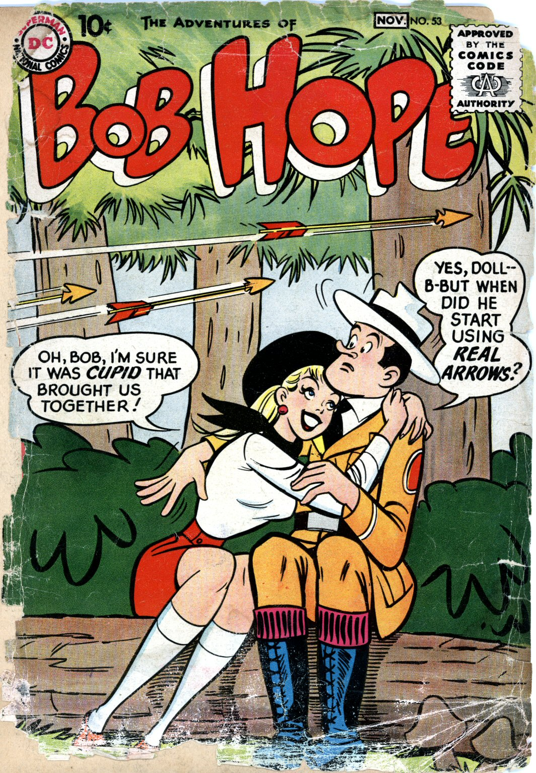The Adventures of Bob Hope issue 53 - Page 1