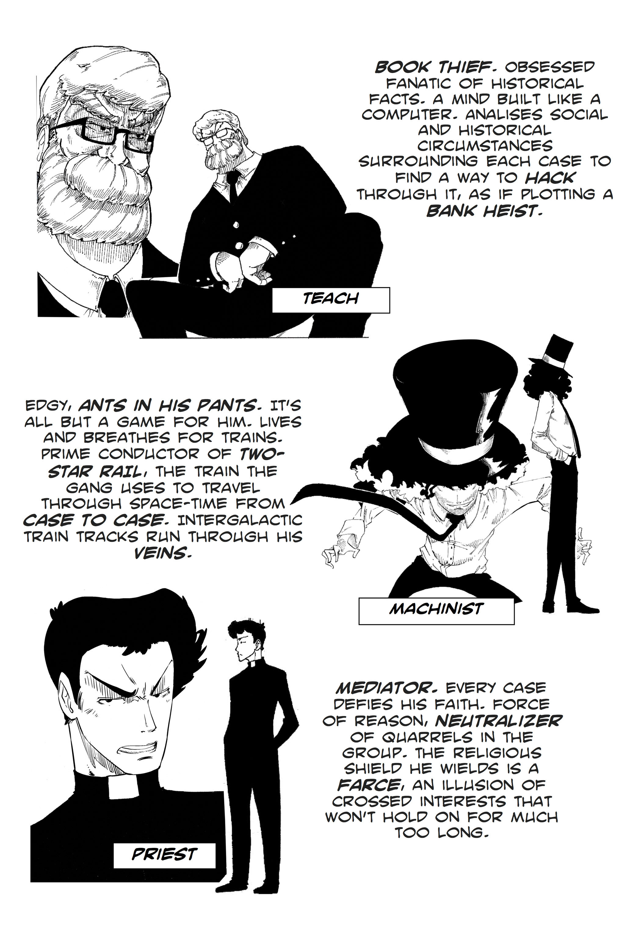 Read online Silvertongue 30xx Vol. 1 comic -  Issue # Full - 4