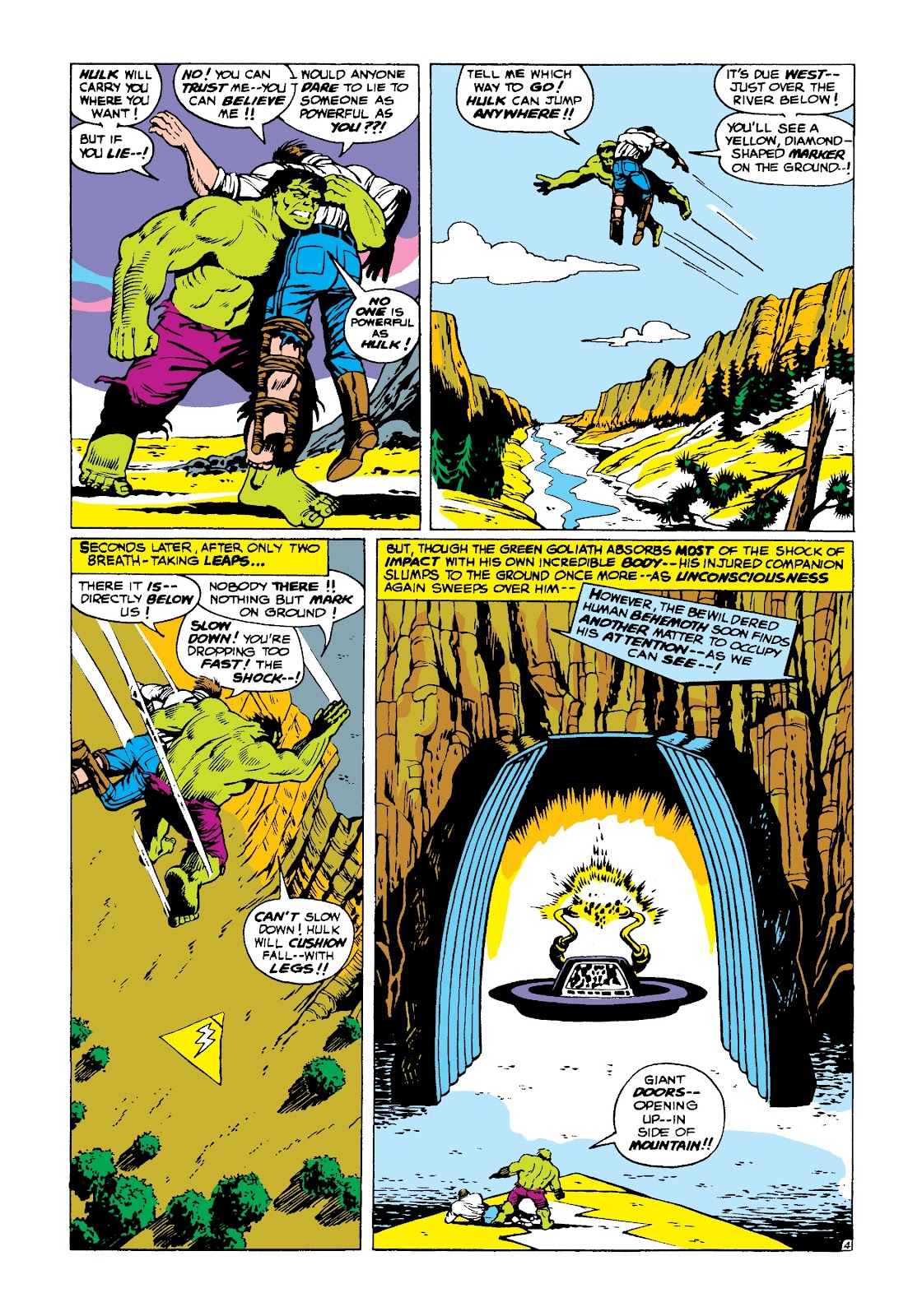 Read online Marvel Masterworks: The Incredible Hulk comic -  Issue # TPB 3 (Part 2) - 98