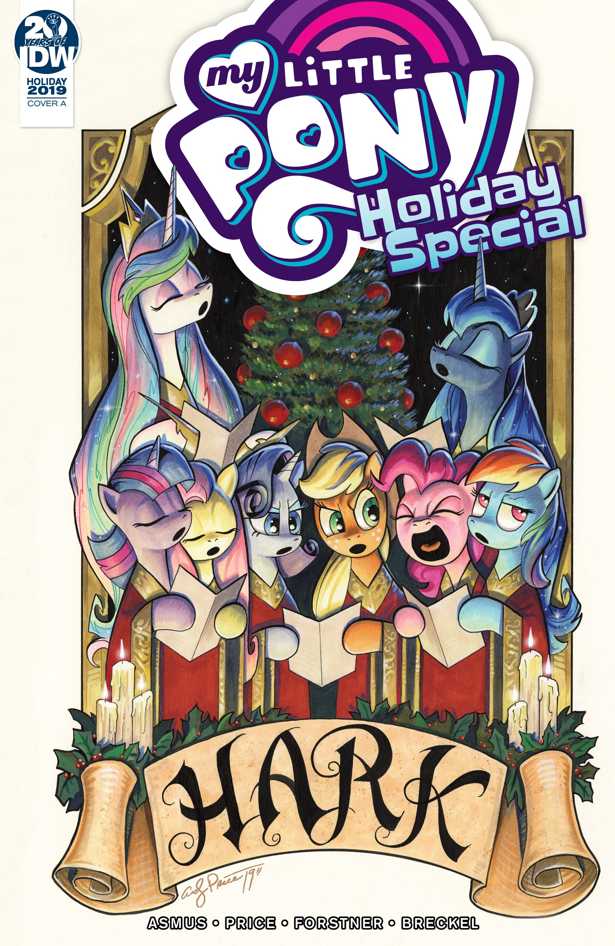My Little Pony Holiday Special (2019) Full Page 1