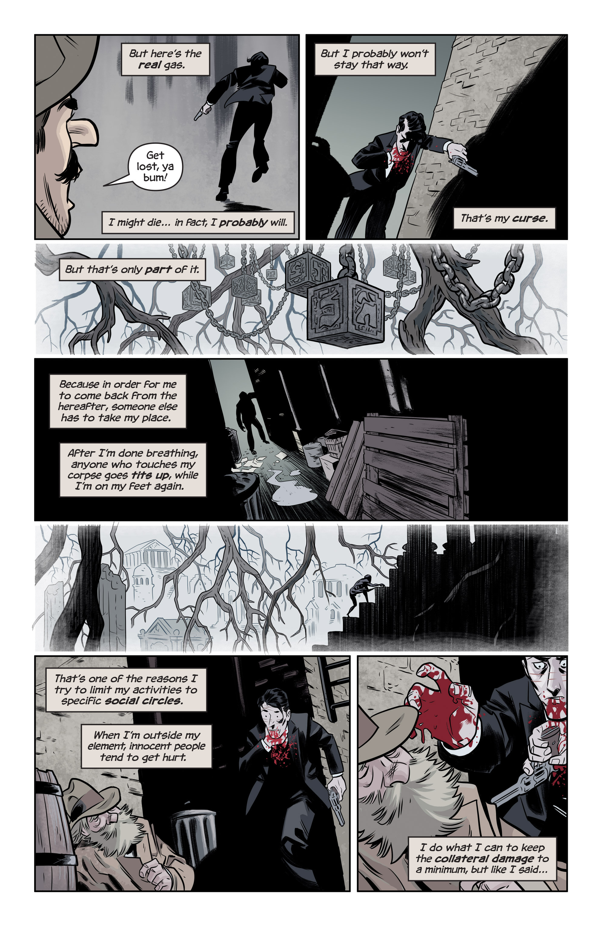Read online The Damned comic -  Issue #1 - 5