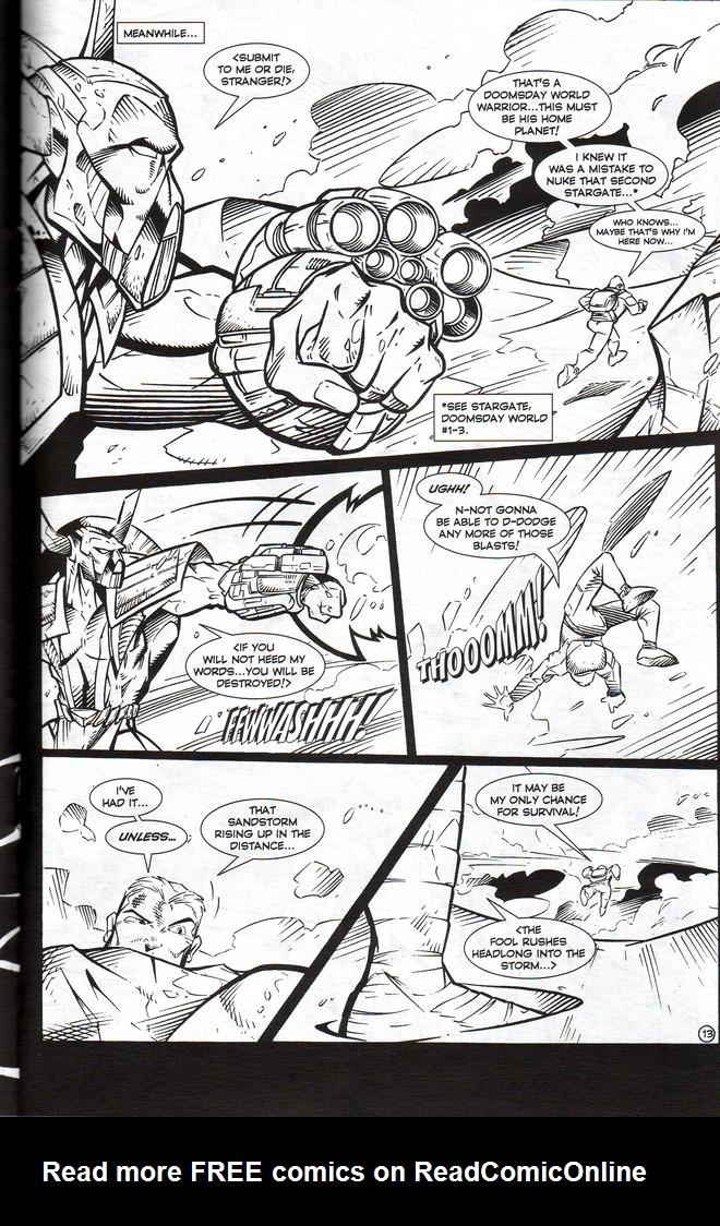 Read online Stargate: One Nation Under Ra comic -  Issue # Full - 15