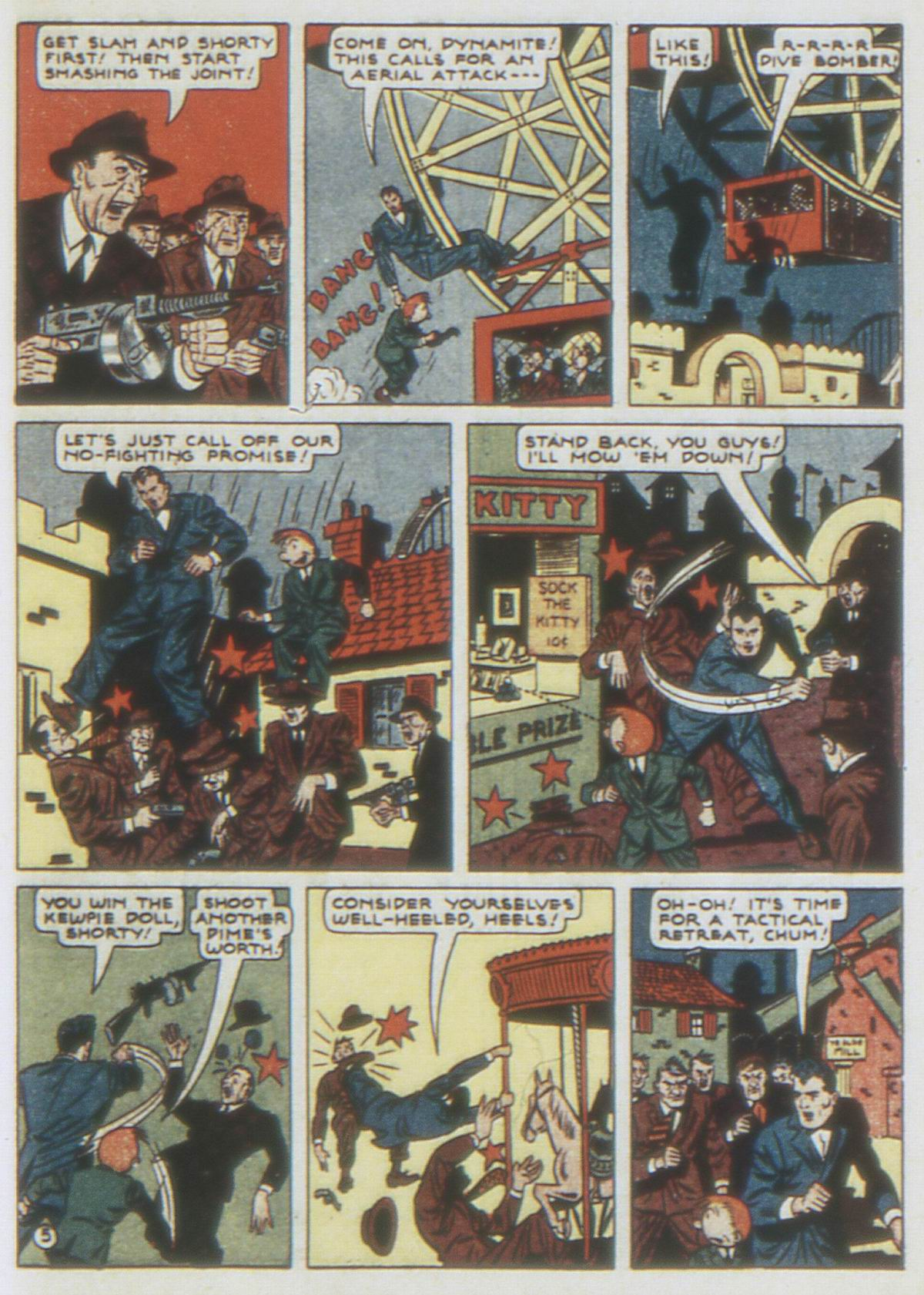 Read online Detective Comics (1937) comic -  Issue #62 - 63