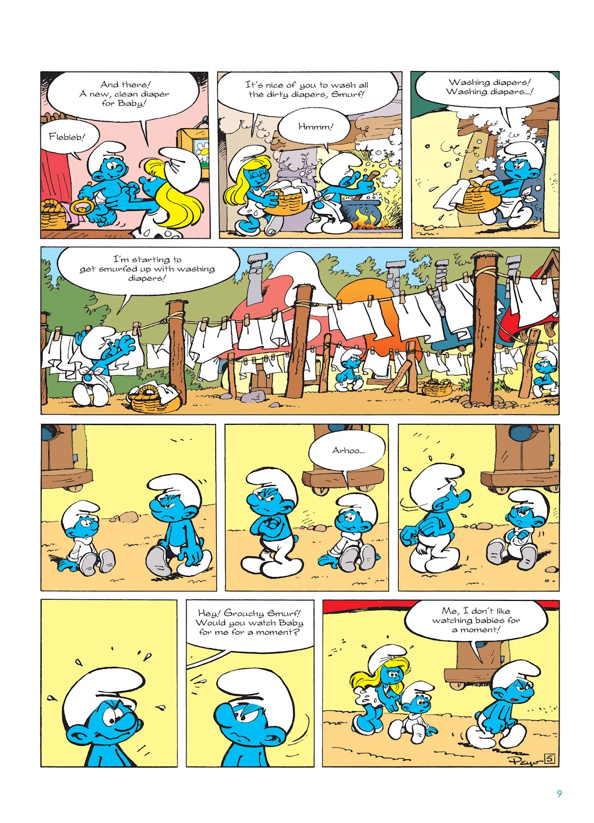 Read online The Smurfs comic -  Issue #14 - 10