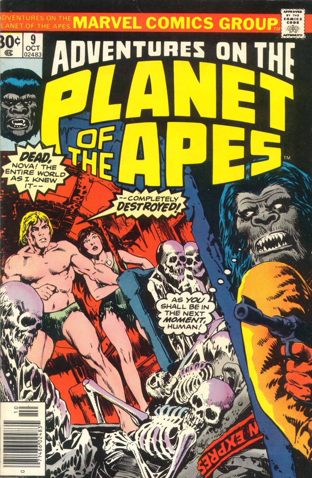 Read online Adventures on the Planet of the Apes comic -  Issue #9 - 1
