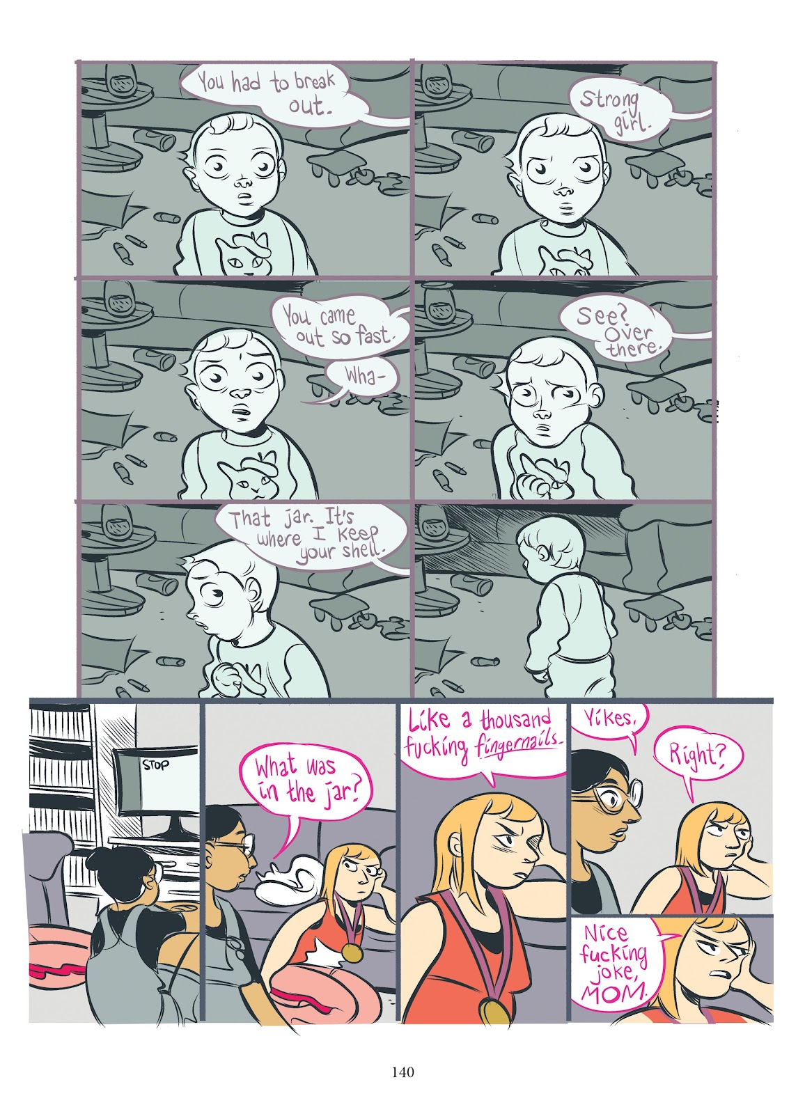 Read online Girl Town comic -  Issue # TPB (Part 2) - 37