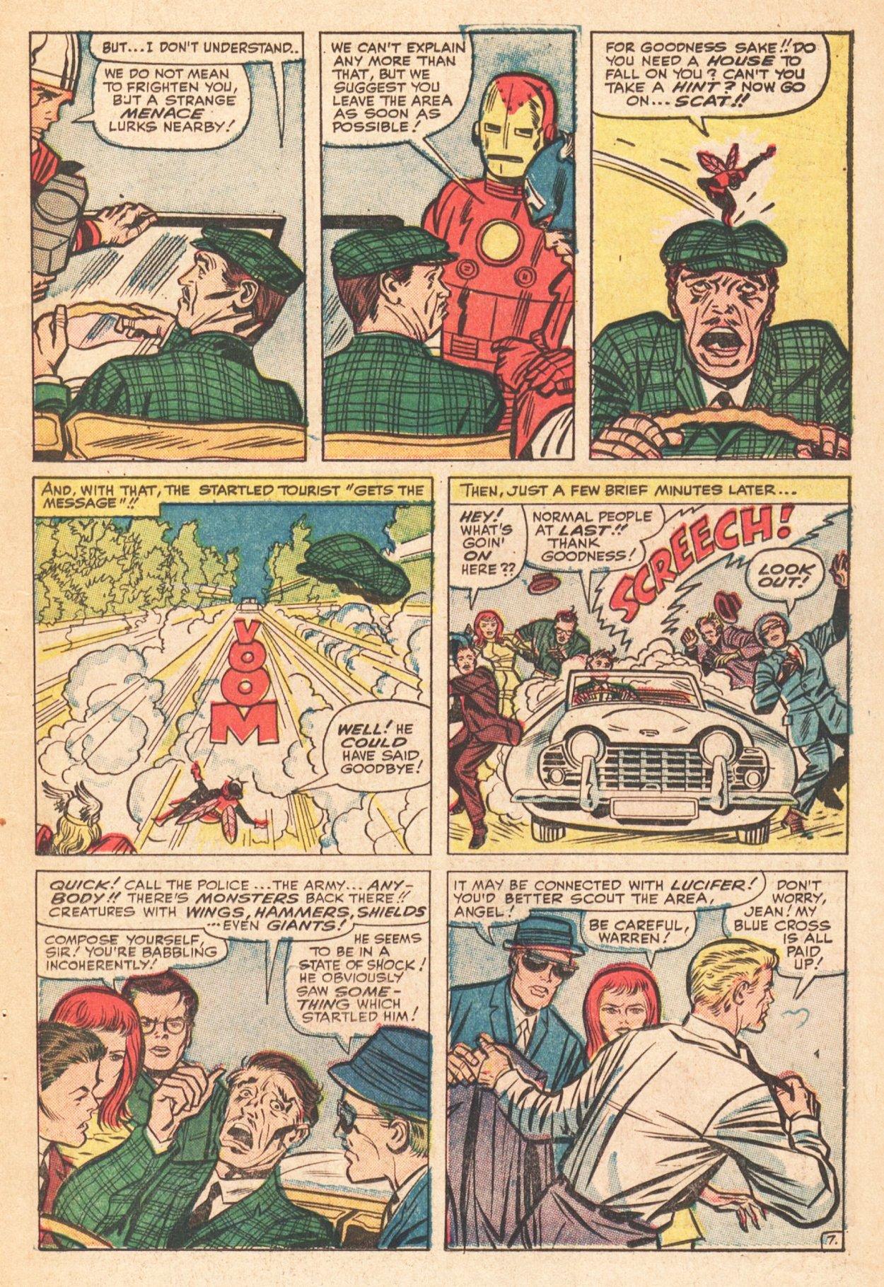 Read online Uncanny X-Men (1963) comic -  Issue # _Annual 1 - 9