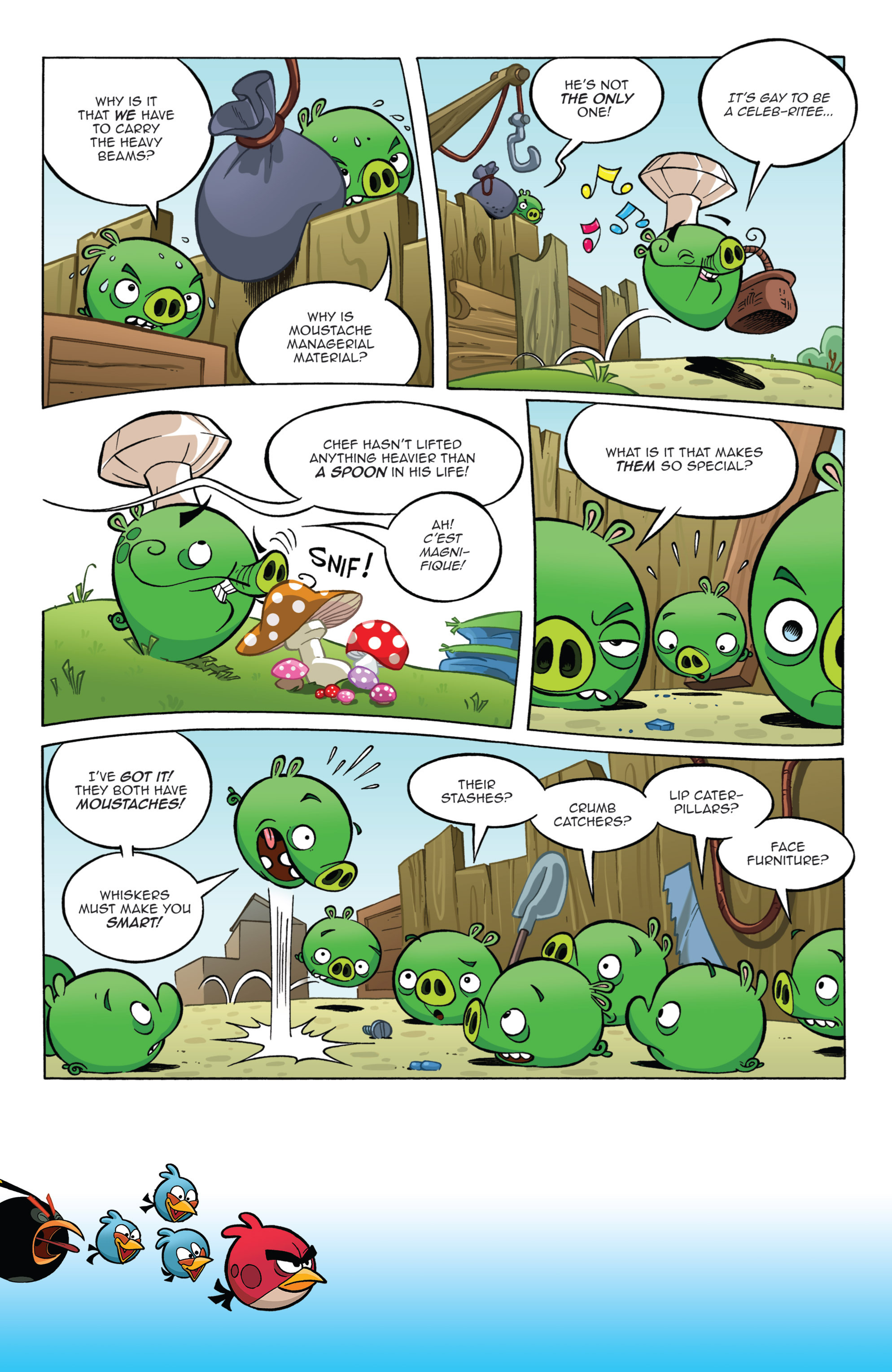 Read online Angry Birds Comics (2014) comic -  Issue #11 - 4