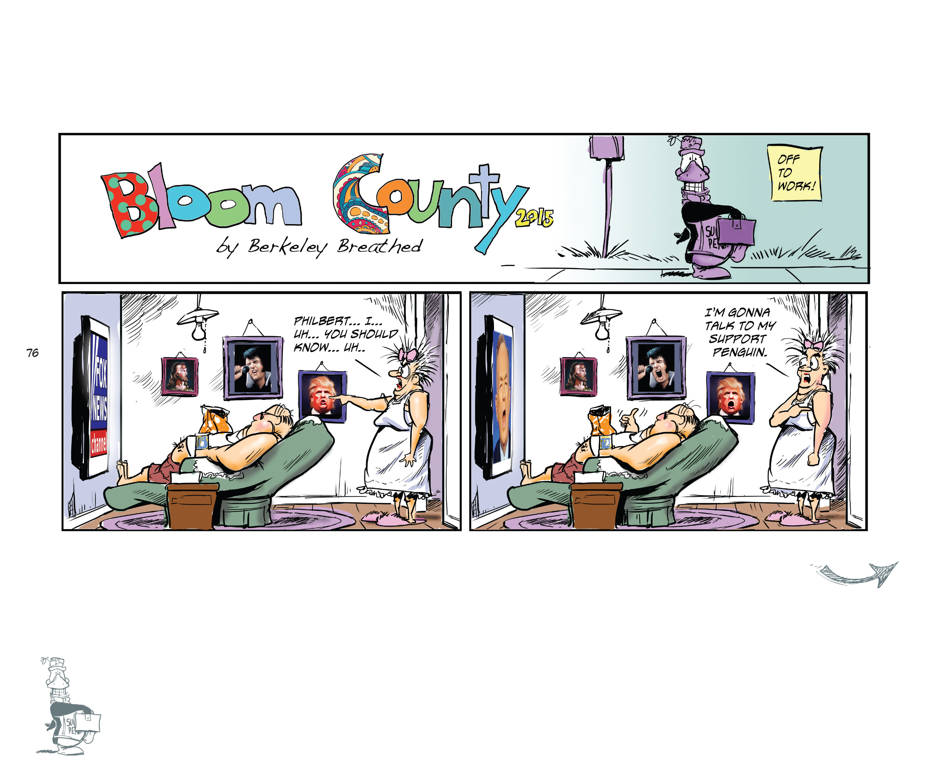 Read online Bloom County Episode XI: A New Hope comic -  Issue # Full - 78