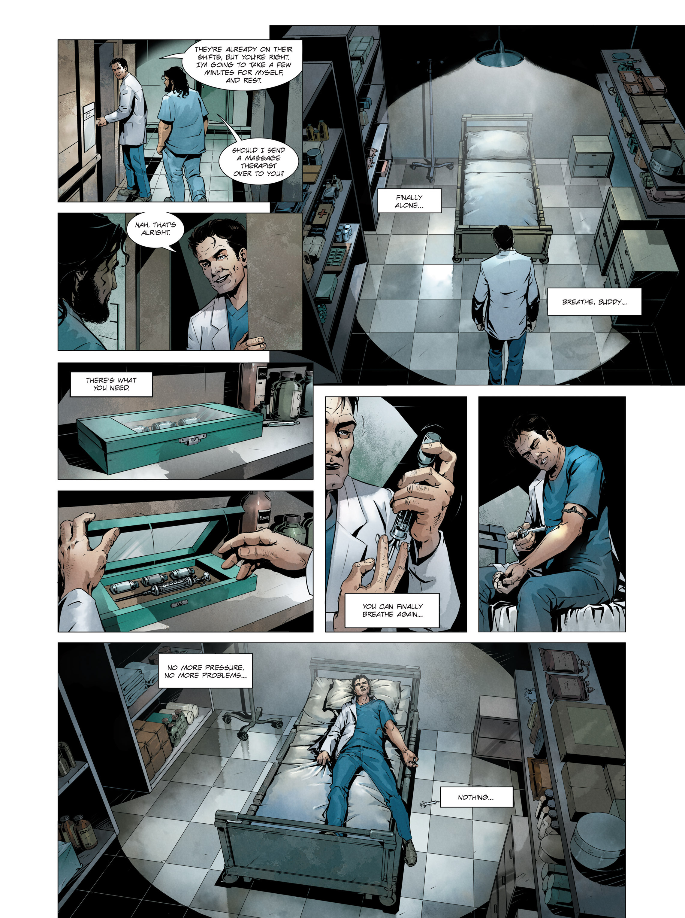 Read online Alice Matheson comic -  Issue #3 - 11