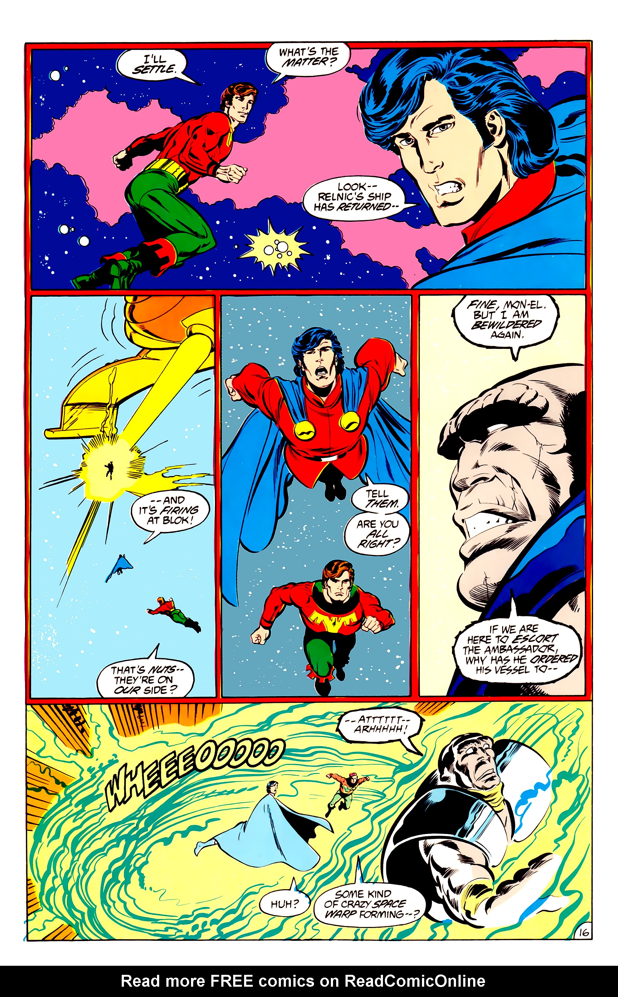 Legion of Super-Heroes (1984) 34 Page 16