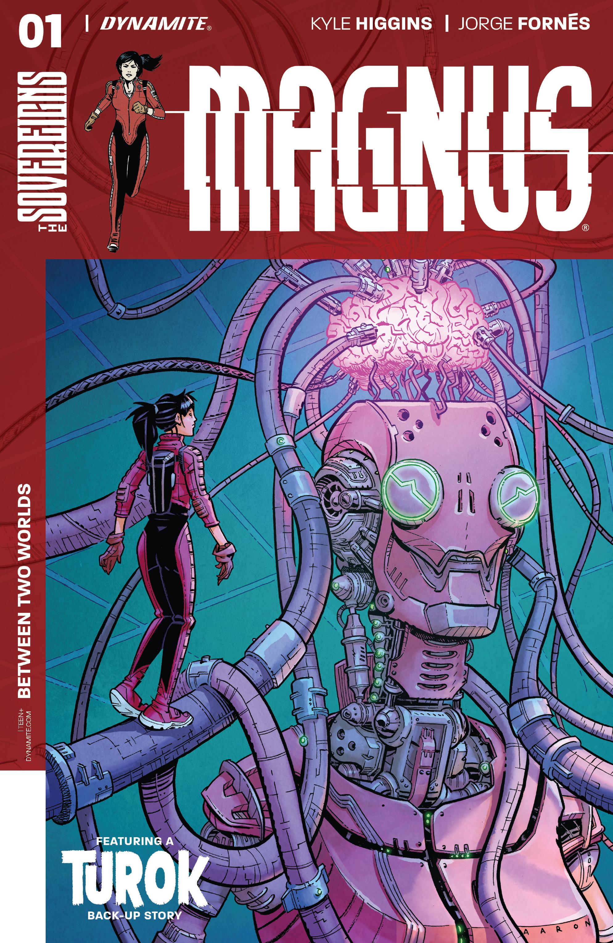 Read online Magnus comic -  Issue #1 - 3