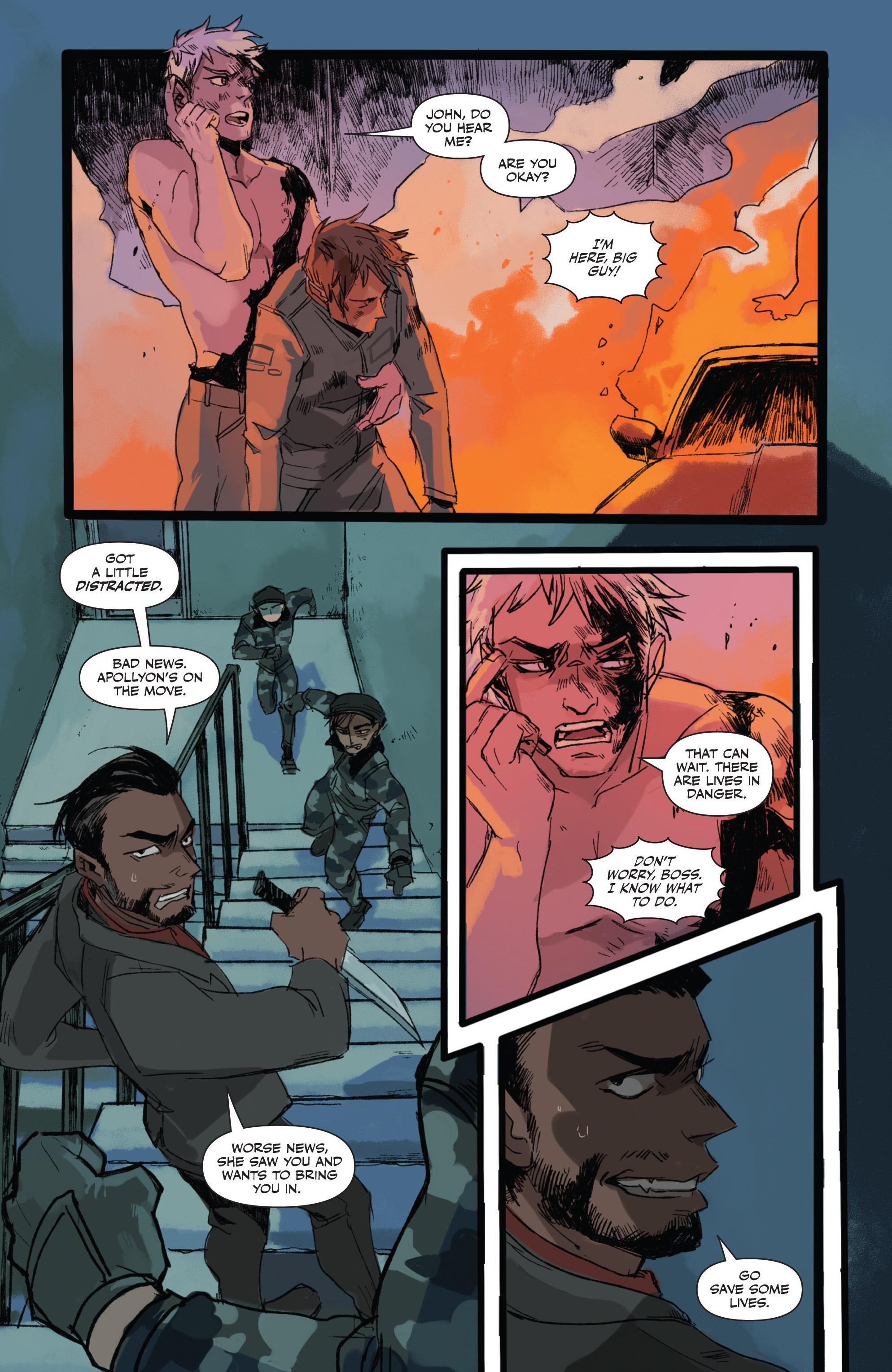 Read online Freelance comic -  Issue #3 - 7