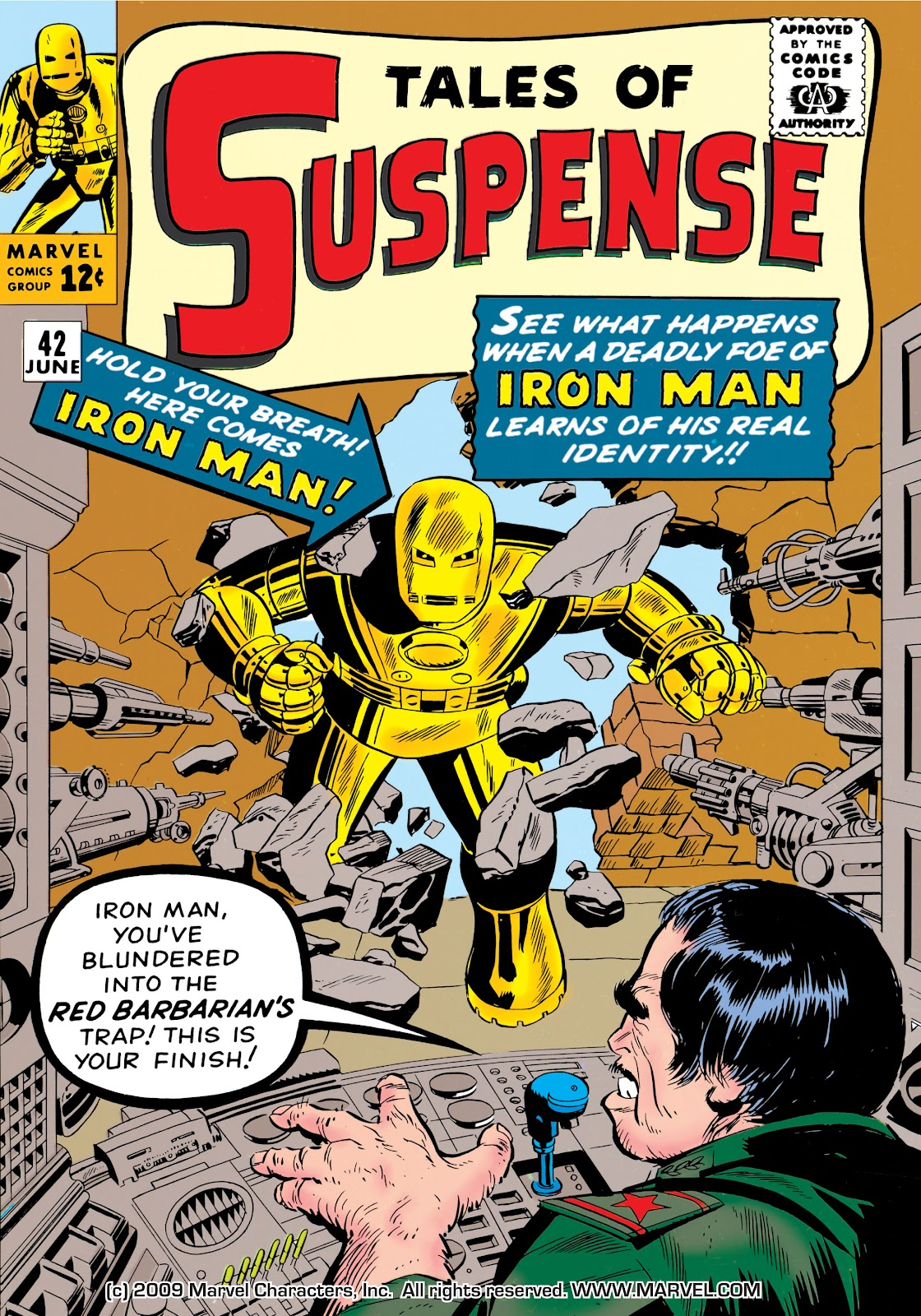 Read online Marvel Masterworks: The Invincible Iron Man comic -  Issue # TPB 1 (Part 1) - 45