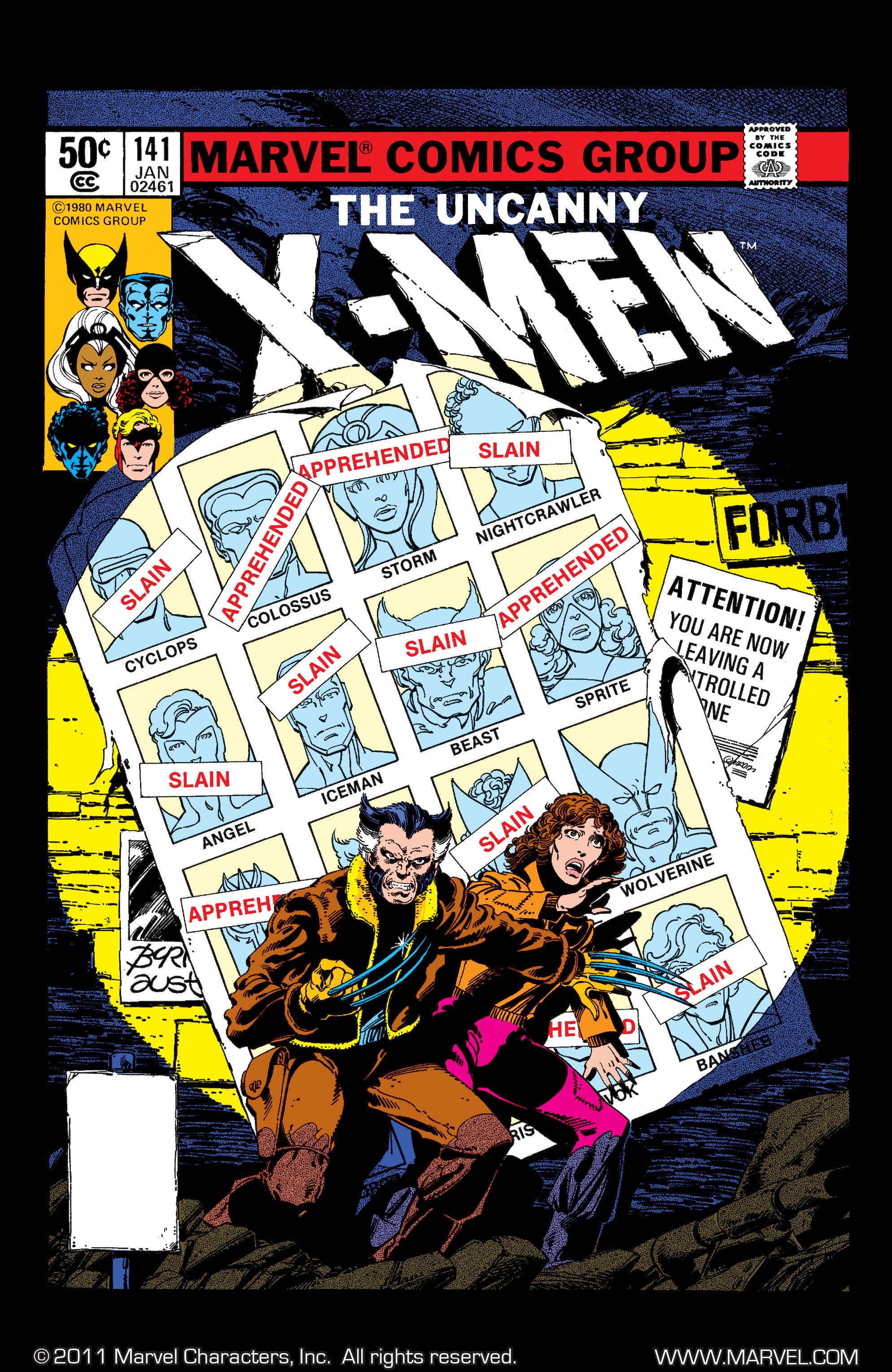 Uncanny X-Men (1963) 141 Page 0