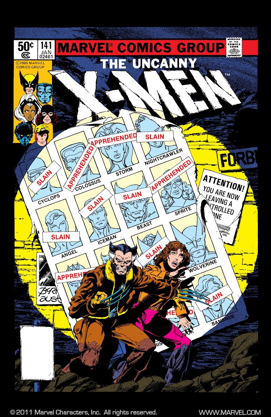 Uncanny X-Men (1963) issue 141 - Page 1