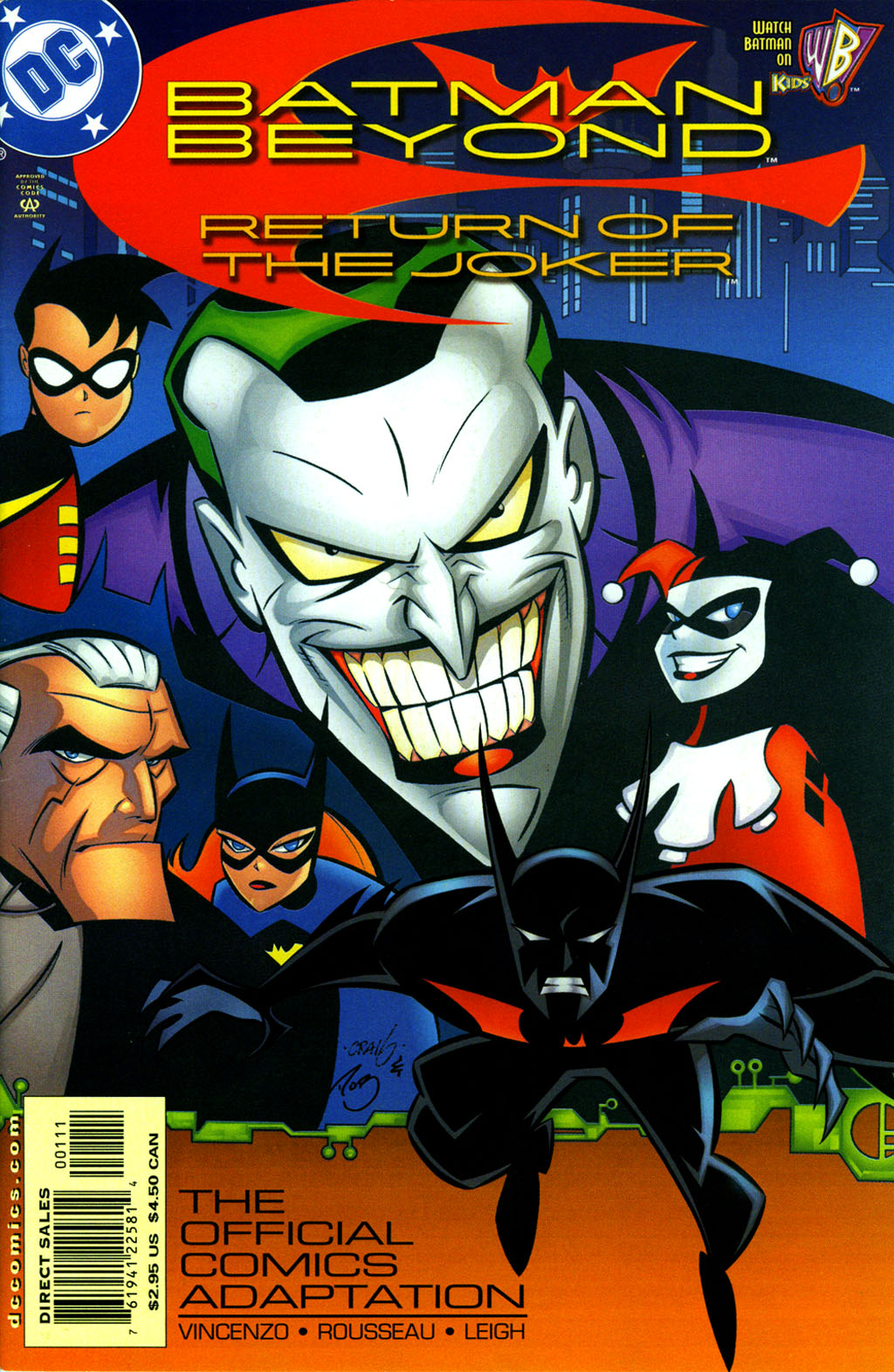 Batman Beyond: Return of the Joker Full Page 1