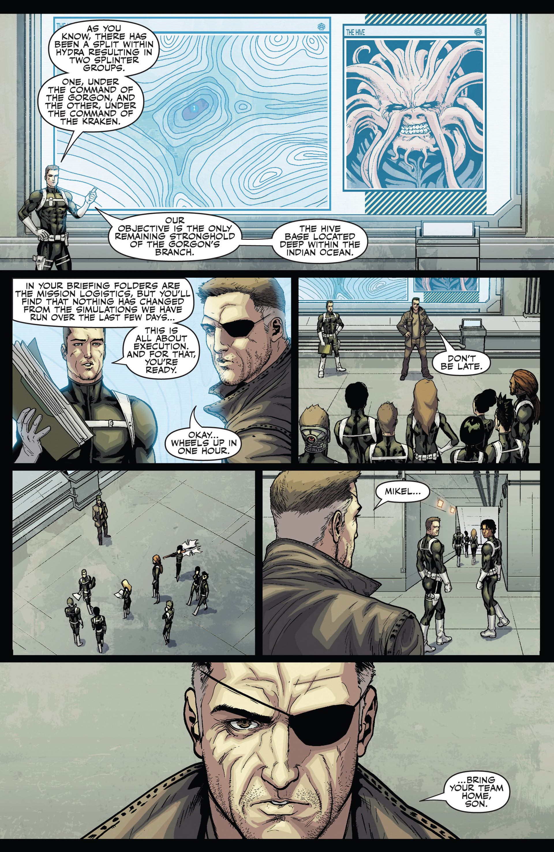 Read online Secret Warriors comic -  Issue #24 - 20