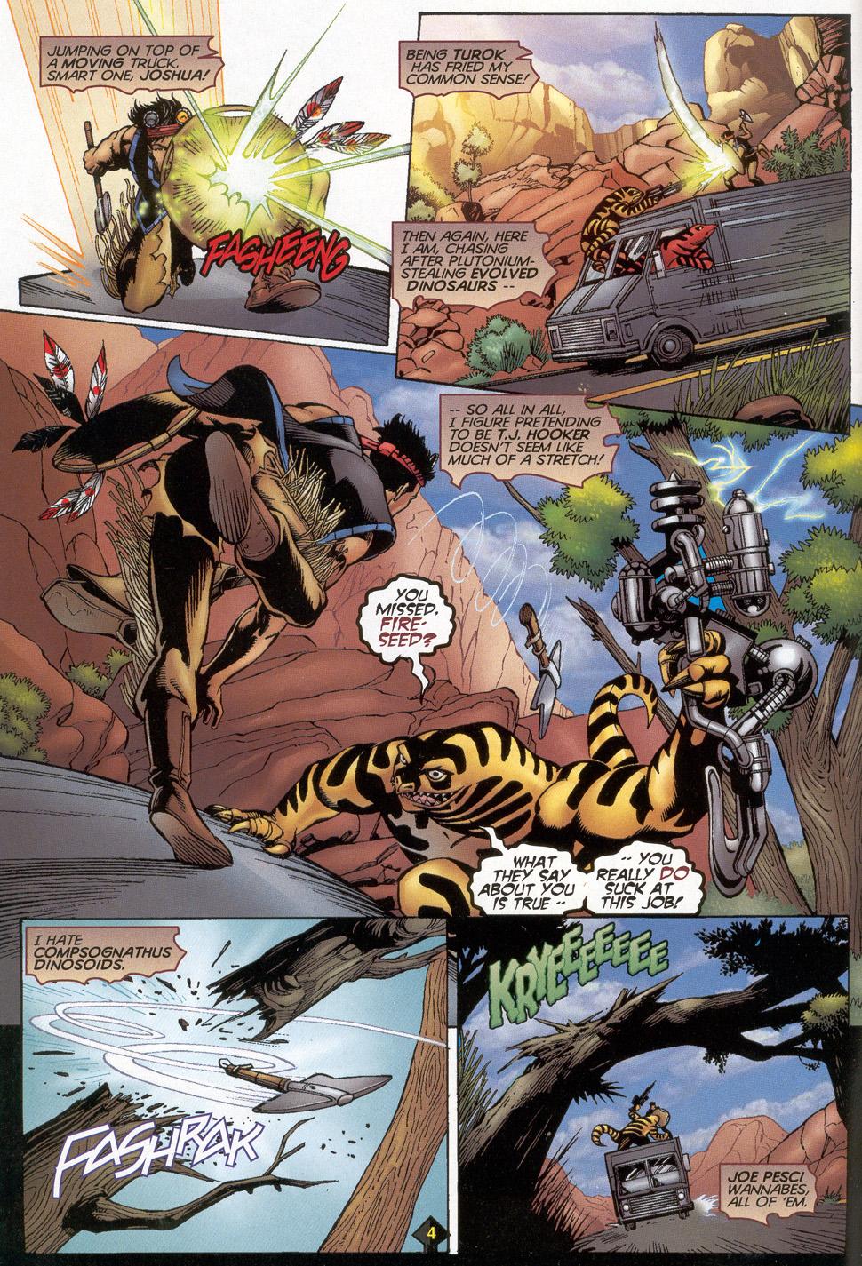 Read online Turok: Redpath comic -  Issue # Full - 5
