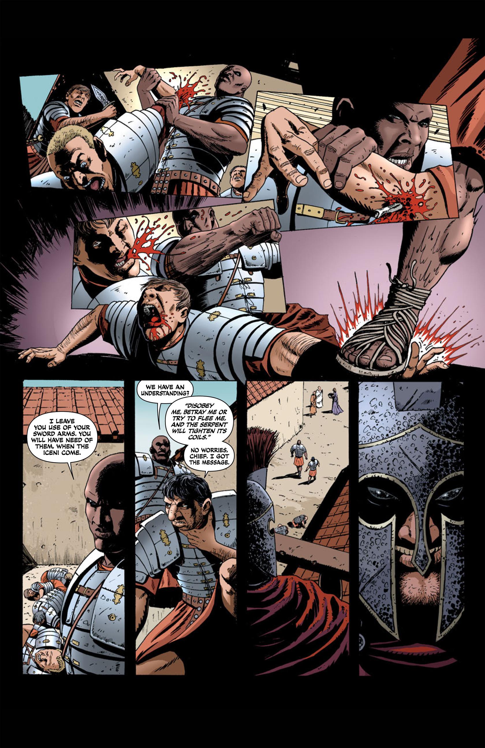 Read online Aquila comic -  Issue #1 - 28