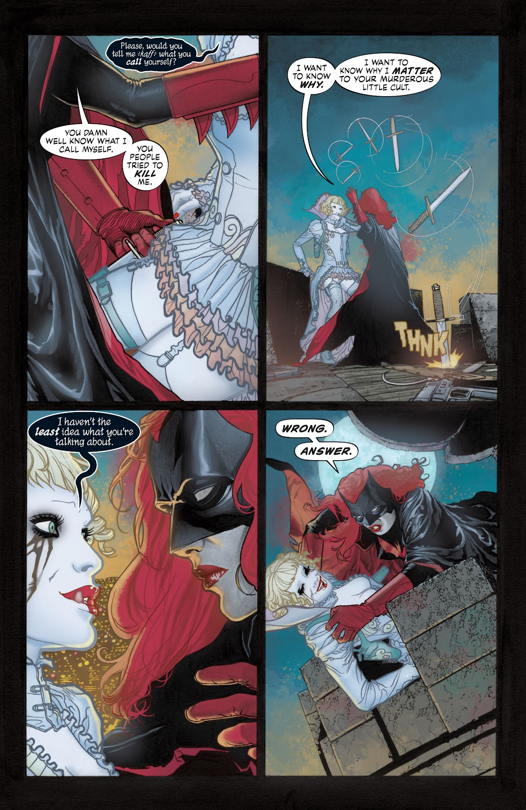 Read online Detective Comics (1937) comic -  Issue # _TPB Batwoman - Elegy (Part 1) - 32