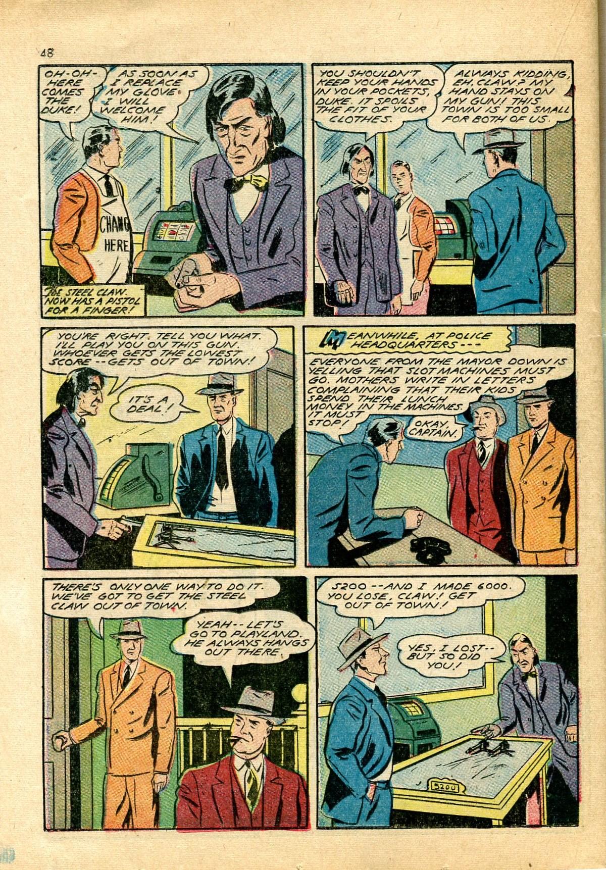 Read online Shadow Comics comic -  Issue #24 - 40