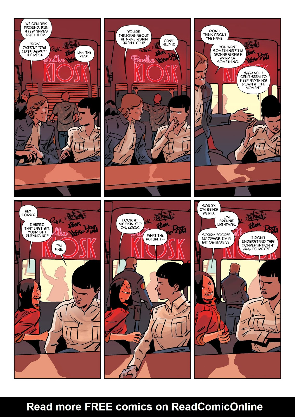 Read online Brink comic -  Issue # TPB 1 - 18
