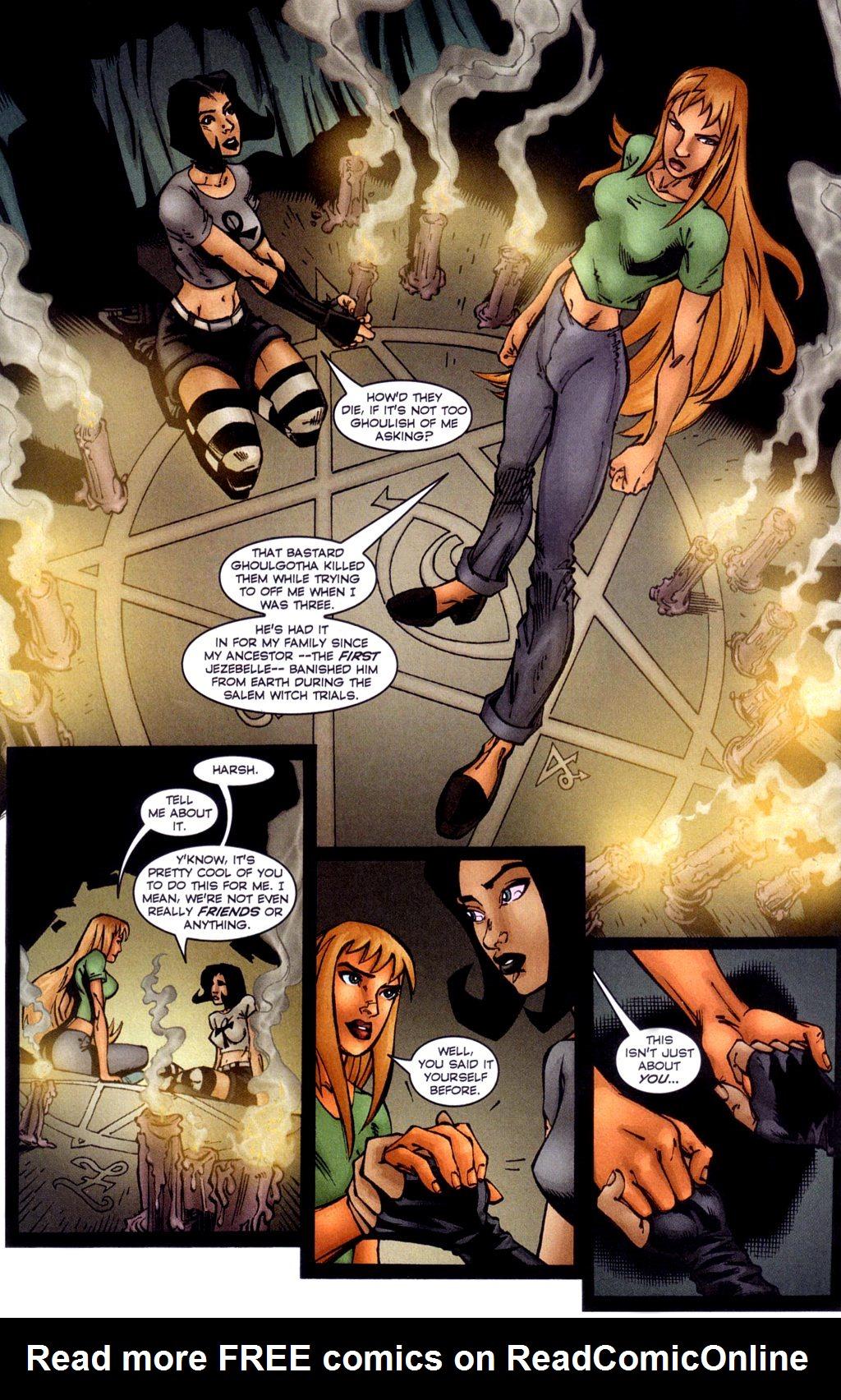Read online Jezebelle comic -  Issue #4 - 14