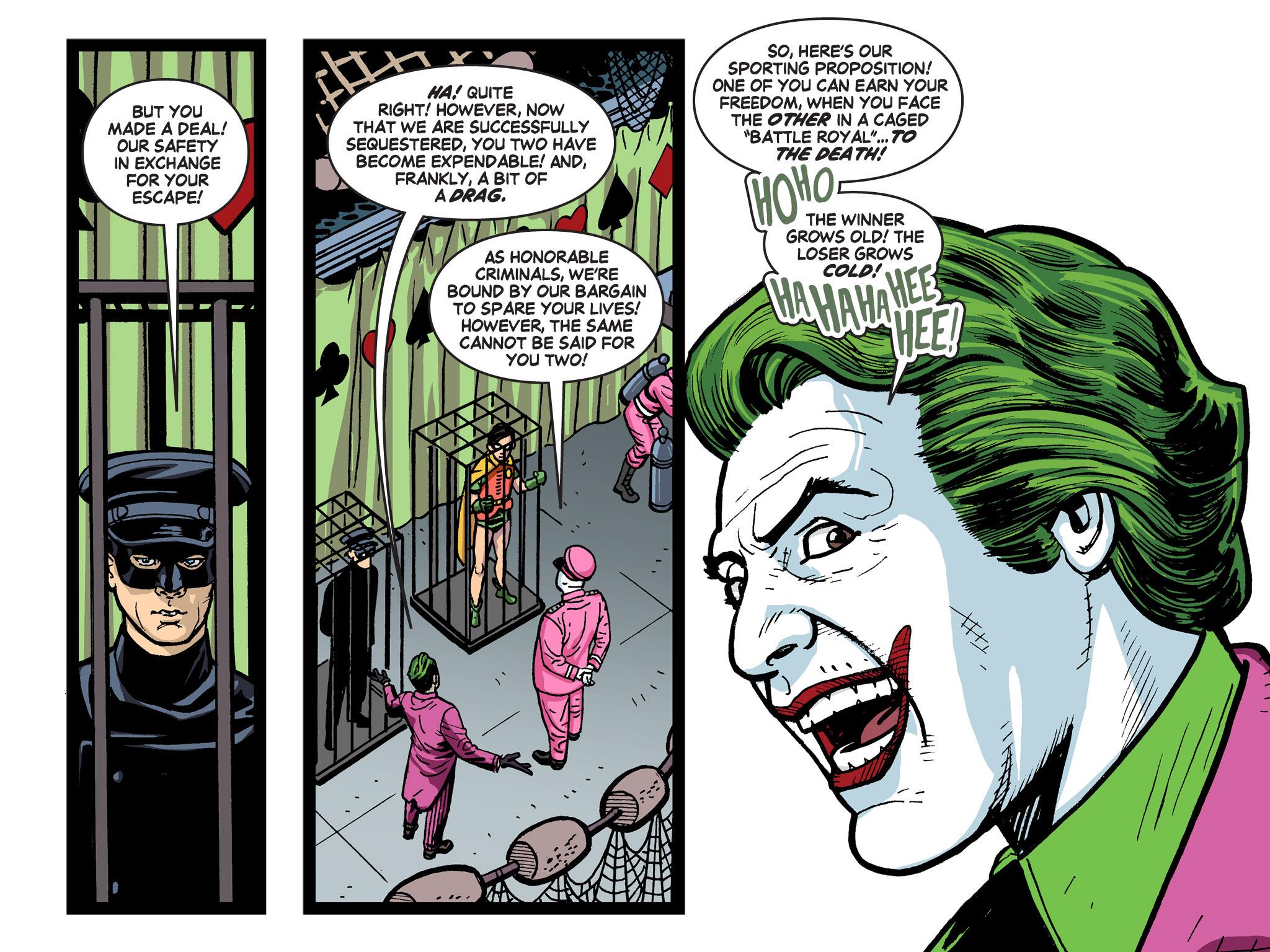 Read online Batman '66 Meets the Green Hornet [II] comic -  Issue #5 - 93