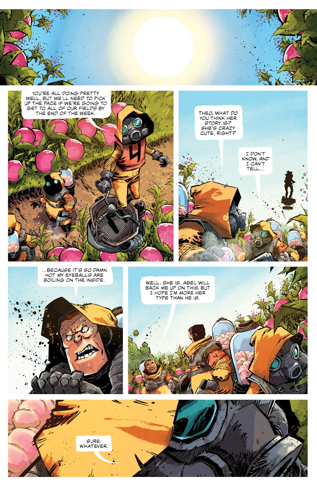 Read online Middlewest comic -  Issue #13 - 14