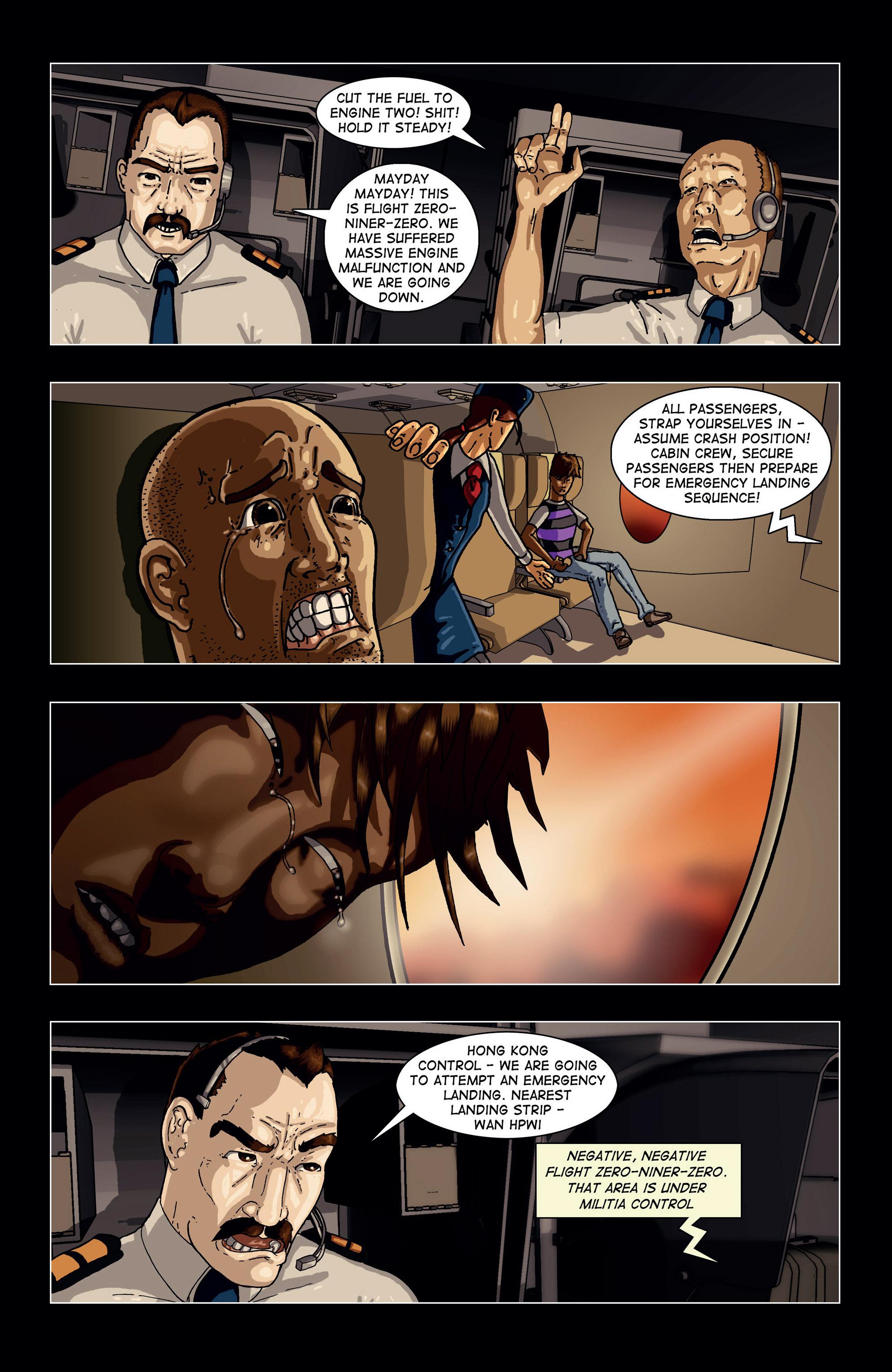 Read online Vanguard (2015) comic -  Issue #1 - 5