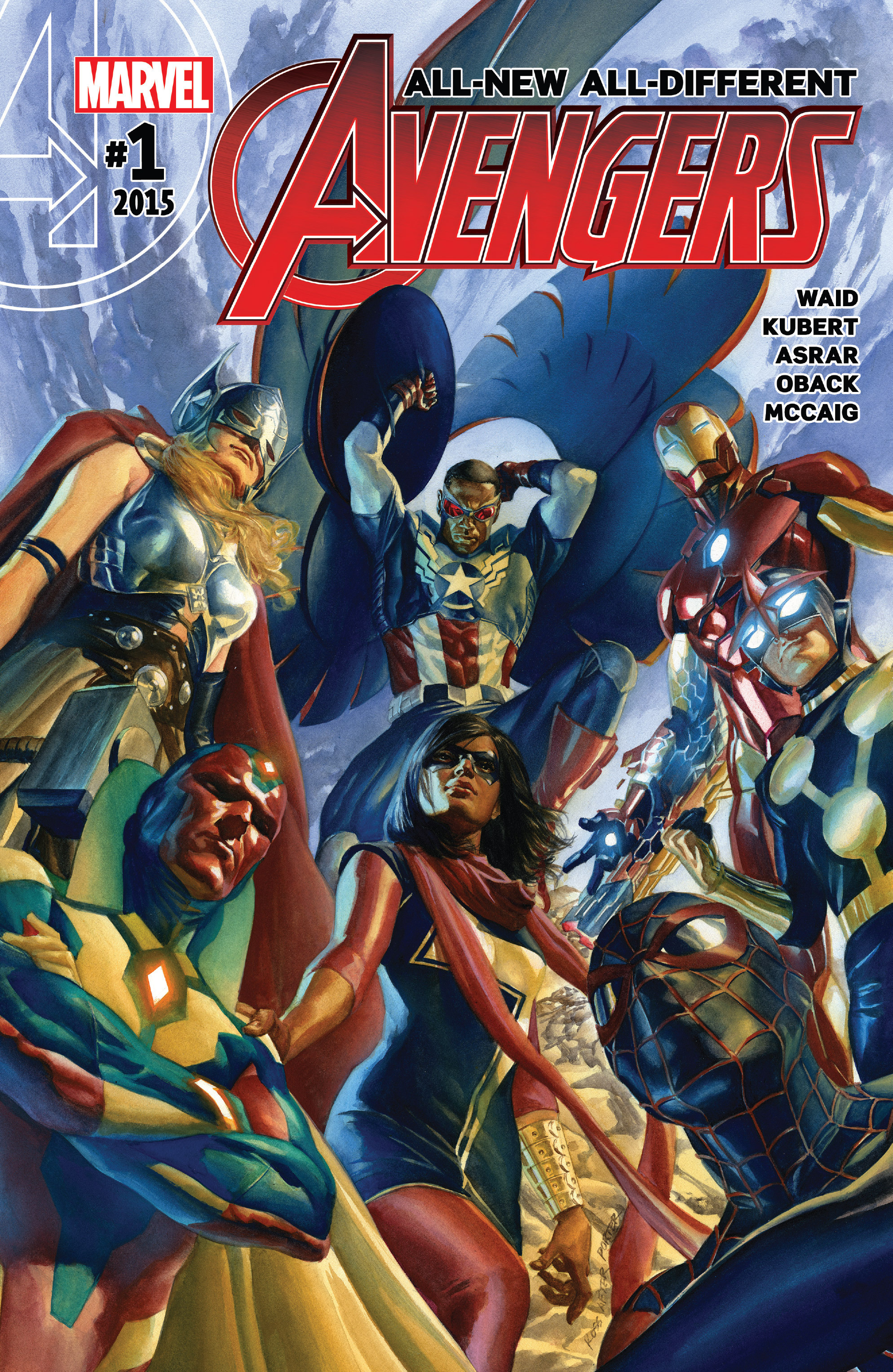 Read online All-New, All-Different Avengers comic -  Issue #1 - 1