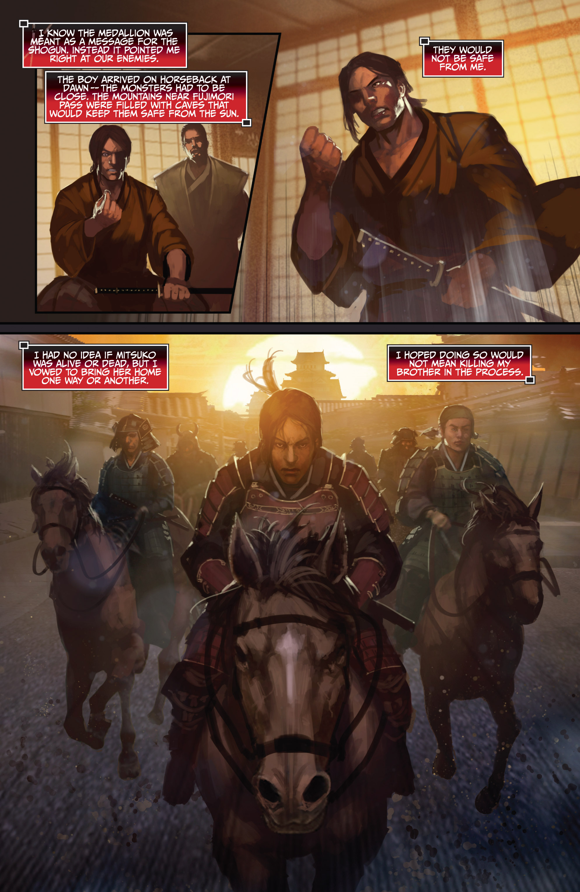 Read online Bushido: The Way of the Warrior comic -  Issue #4 - 14