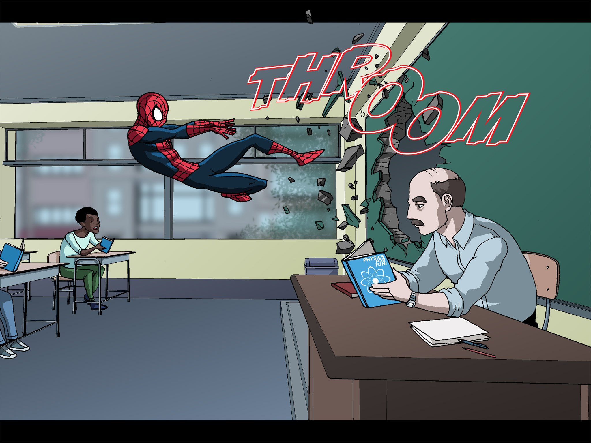 Read online Ultimate Spider-Man (Infinite Comics) (2015) comic -  Issue #23 - 5