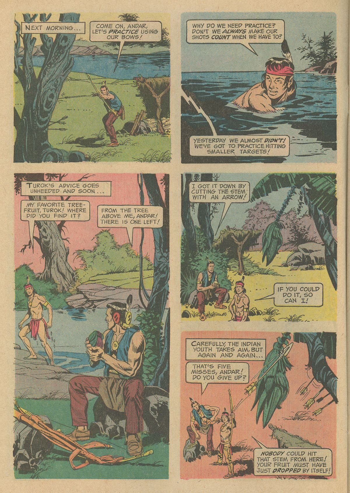 Read online Turok, Son of Stone comic -  Issue #80 - 6